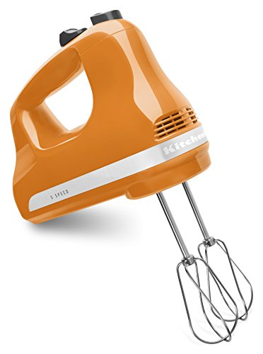 KitchenAid KHM512TG 5-Speed Ultra Power Hand Mixer, Tangerine (Kitchen Aid Mixer Tangerine compare prices)
