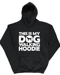 HippoWarehouse This Is My Dog Walking Hoodie kids unisex Hoodie hooded top
