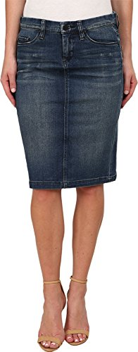 Blank NYC Women's Denim Pencil Skirt Blue Skirt 27
