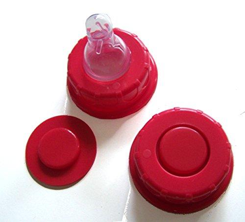 2-Ersatzschraubringe-ROT-fr-Classic-Standartflaschen