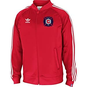 Chicago Fire Legacy Track Jacket (Red) by adidas
