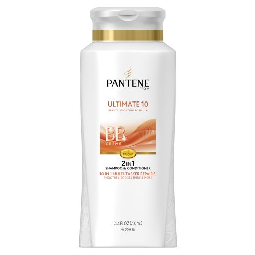 Pantene Pro-V Ultimate 10 2-In-1 Shampoo And Conditioner 25.4 Fl Oz (packaging may vary)