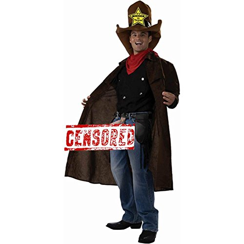 Bigger in Texas Funny Cowboy Costume