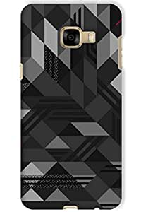 IndiaRangDe Hard Back Cover FOR Samsung Galaxy C7