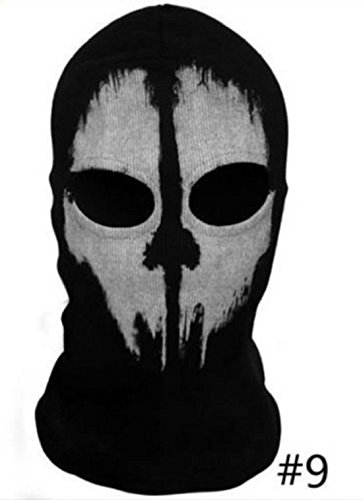 [Balaclava face skull mask ghost bike skateboard Hood Cos Costume Call of Duty 10 (9)] (Jessica Rabbit Costumes Ideas)