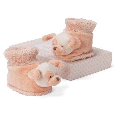 "Gund Tangerine Dog Booties 3"" Infant Accessory"