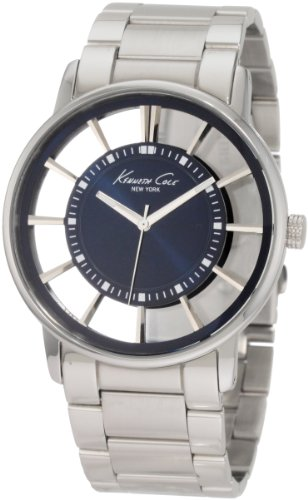 Kenneth Cole New York Men's KC3993 Transparency Classic See-Thru Dial Round Case Watch