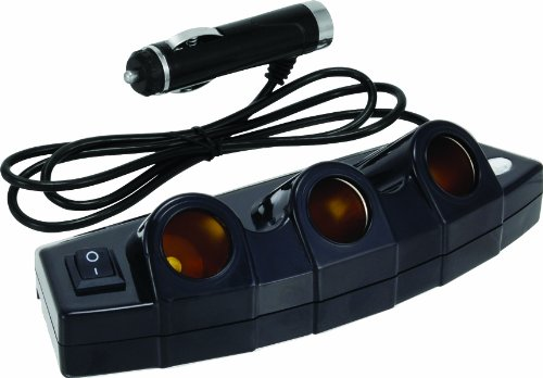Bell 22-1-39023-8 Black 3-Outlet Power Strip
