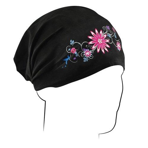 ZANheadgear Garden Headwrap (Black)