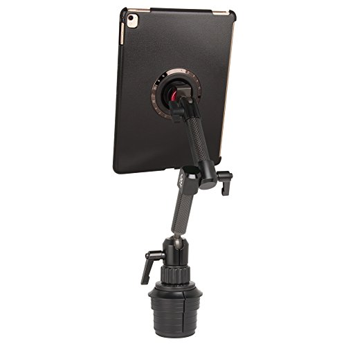 """The Joy Factory MagConnect Carbon Fiber Car/Truck Cup Holder Mount for iPad Pro 9.7"""" and iPad Air 2 (MMA508)"""