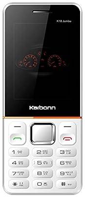 Karbonn K18 Jumbo (White-Orange)