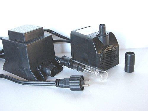 Jebao WP450L Indoor/Outdoor Fountain Pump WP 450L, WP450 Light,118GPH