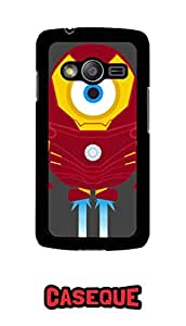 Caseque Minion Iron Man Back Shell Case Cover for Samsung Galaxy Ace 4