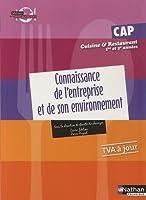 Connaissance de l'entreprise et de son environnement - CAP Cuisine et Restaurant