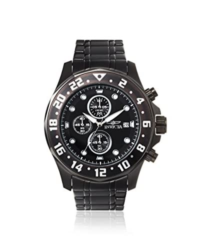 Invicta Men's 15945 Specialty Chronograph Black Stainless Steel Watch