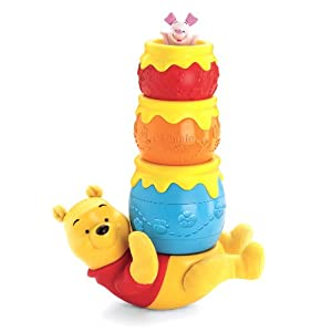 Fisher-Price Disney's Winnie the Pooh Honey Pot Stackers