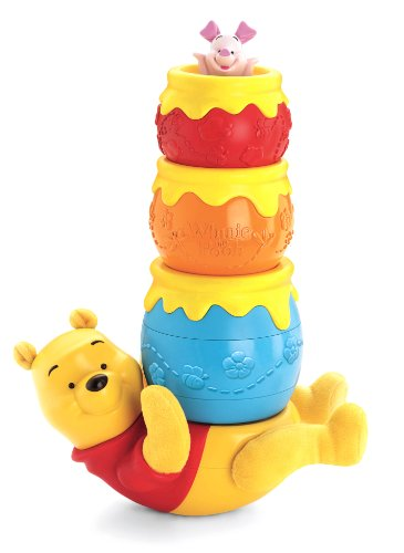 Fisher-Price Disney's Winnie the Pooh Honey Pot Stackers - 1