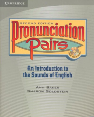 Free downloadable audiobooks for itunes Pronunciation Pairs Student's Book with Audio CD 9780521678087 iBook PDF (English Edition)