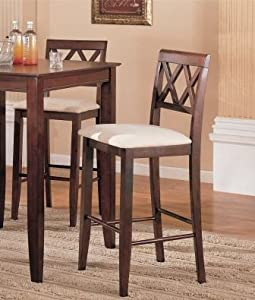 Southwestern Style Ball and Claw Foot Bar Stool/Stools Barstools (Set of 2)