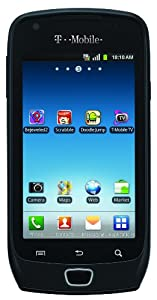 Samsung Exhibit 4G Android Phone, Black (T-Mobile)