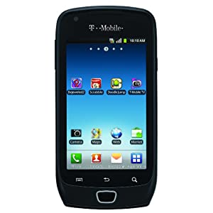 samsung exhibit 4g android phone black t mobile