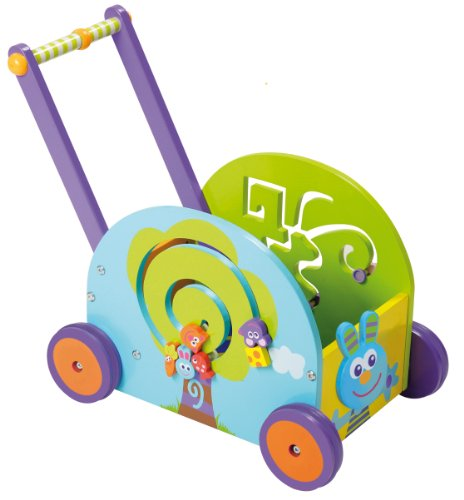Boikio Push and Play Rabbit Wagon Playset