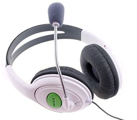 Matek: Headphone Headset with Mic For Xbox 360