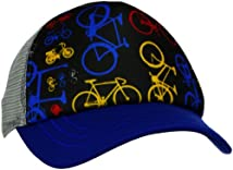 San Diego Hat Little Boys' Bike Trucker Blue 5-7 Year