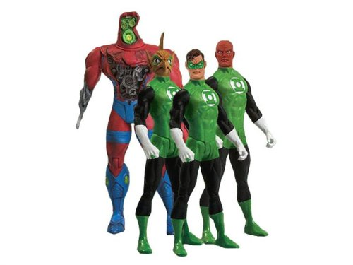 Picture of DC Comics Green Lantern Action Figure Box Set (B00192KNAU) (Green Lantern Action Figures)