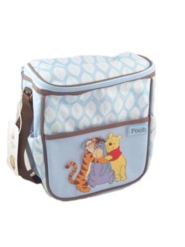 Disneys Winnie-the-pooh Mini Diaper Bag, Blue - 1