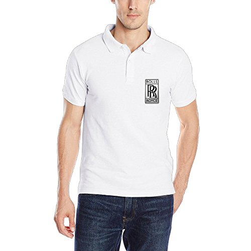 NImao Men's Rolls-Royce Logo Polo T Shirts/Tee (Rolls Royce Polo compare prices)