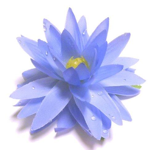造花フローティングロータス(蓮) ブルー