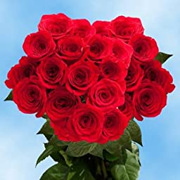 75 Fresh Cut Red Roses for Mother\'s Day | Classy Roses | Fresh Flowers Express Delivery | The Perfect Mother\'s Day Gift