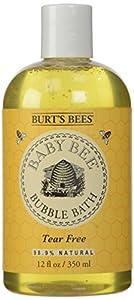 Burt's Bees Baby Bee Bubble Bath,Tear Free, 12 Fluid Ounces (Pack of 3)
