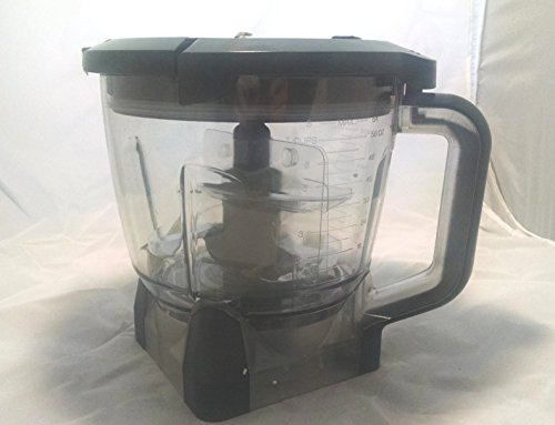 Ninja Blender 64oz Food Processor Bowl Attachment Kit - BL770 BL780 BL771 (Ninja Blender Processor Bowl compare prices)
