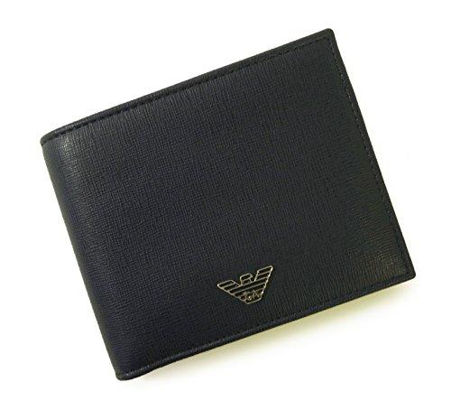 (エンポリオアルマーニ)EMPORIO ARMANI 財布  二つ折 (ネイビー) YEM122 YC91E 80033 A-2043 [並行輸入品]
