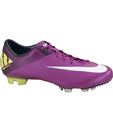 Nike Mercurial Miracle II FG Plum Purple/White Soccer Futball Cleats Men Shoes (13)