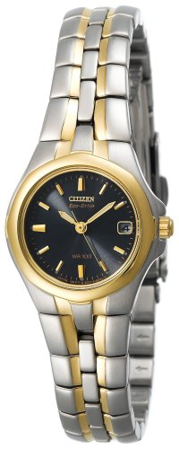 Citizen Women's EW0044-51L Eco-Drive Two-Tone Stainless Steel Watch