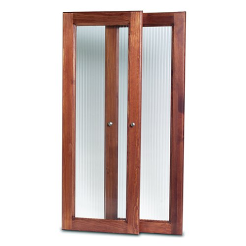 John Louis Home JLH-535 Deluxe Door Kit, Red Mahogany