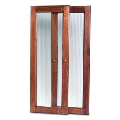 John Louis Home JLH-535 Deluxe Door Kit, Red Mahogany