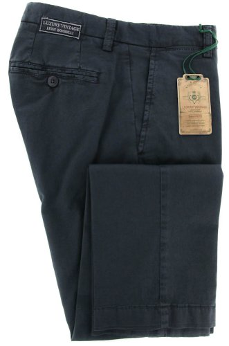 new-luigi-borrelli-navy-blue-solid-pants-extra-slim-34-50