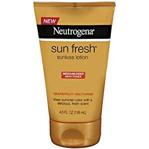 Neutrogena Sun Fresh Lotion Medium/Deep 4 fl oz (118 ml)