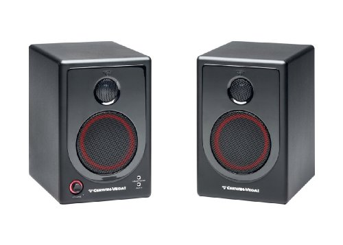 Cerwin Vega Xd4 Active Desktop Monitor Speakers