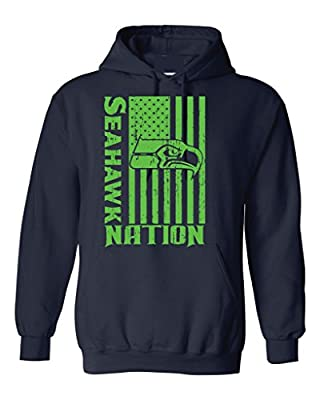 Local Imprint Men's Seahawk Nation Hoodie