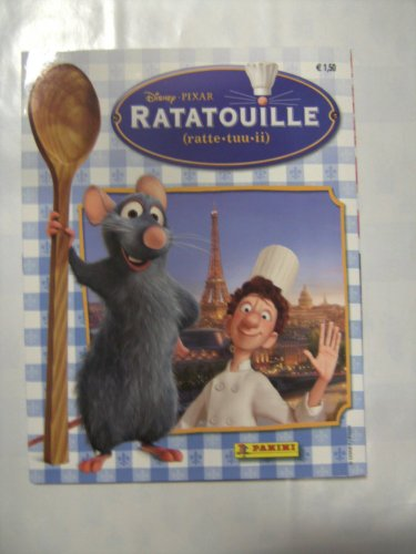 Panini Ratatouille Stickeralbum (leer)