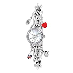Ladies NFL Houston Texans Charm Watch by Jewelry Adviser Nfl Watches