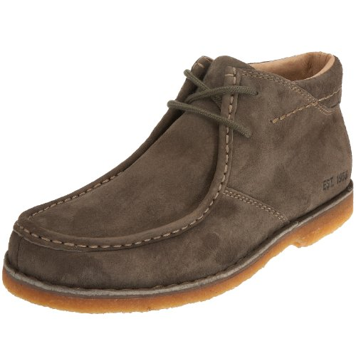 Hush Puppies Men's Savanna Olive Suede Casual H13189390 10 UK
