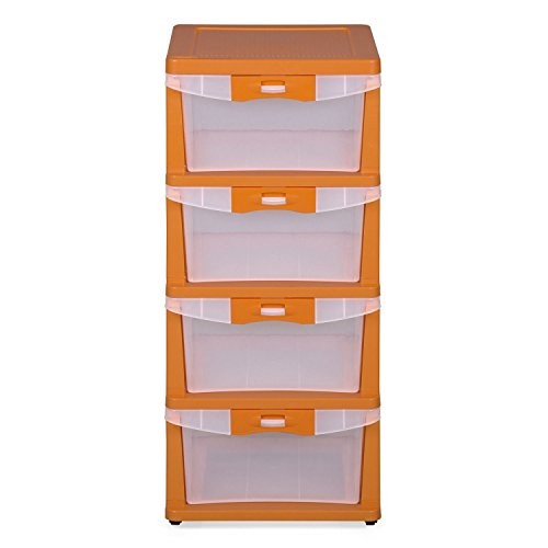 Nilkamal Chest of 4 Drawers Storage Cabinet