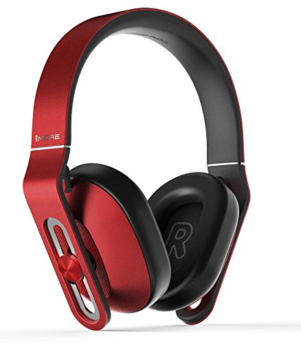 1MORE-MK801-Over-Ear-Headphones-with-In-line-Microphone-and-Remote-Red