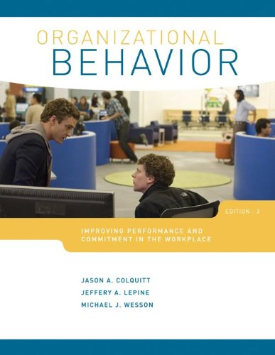 Organizational Behavior: Improving Performance